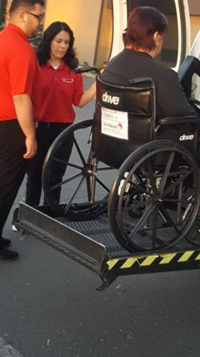 Secure Wheelchair Lift